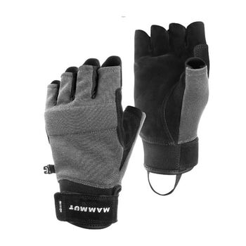 MAMMUT Pordoi Klettersteig-Handschuhe Herren schwarz