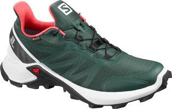 Salomon Supercross GORETEX Traillaufschuhe Damen grün