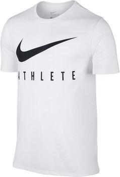 Nike Swoosh Athlete T-Shirt Herren weiß