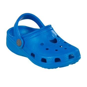Coqui Big Frog Clog Wellnesssandalen blau
