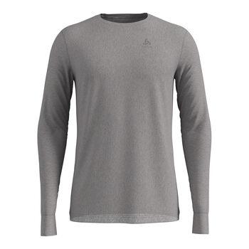 Odlo Natural 100% Merino Warm Unterhemd Herren grau