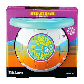 Wilson Endless Summer Kit Volleyball & Frisbee Set weiß