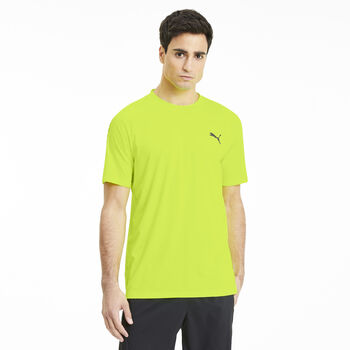 Puma Power Thermo R T-Shirt Herren gelb