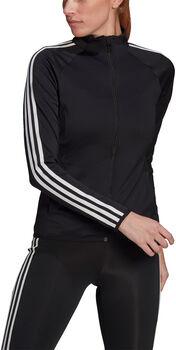 adidas Desgined 2 Move 3-Streifen Trainingsjacke Damen schwarz