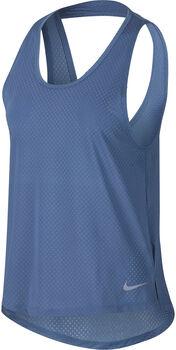 Nike Breathe Miler Tanktop Damen blau