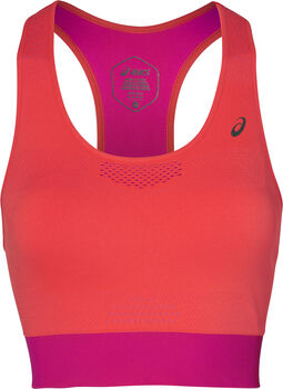 Asics Cooling Seamless Sport-BH Damen pink