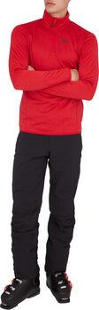 McKINLEY Andreas Langarmshirt mit Half Zip Herren rot