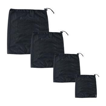 COCOON Netzbeutel 4er-Set schwarz