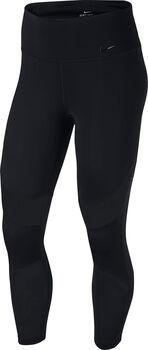 Nike  Fly Hyper Crop 3/4-Tight Damen schwarz