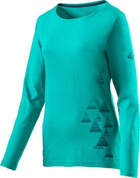 McKINLEY Active Aravalli Langarmshirt Damen blau