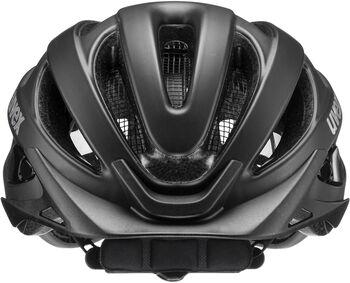 Uvex True CC Fahrradhelm schwarz