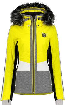 Luhta Danvik Skijacke Damen gelb