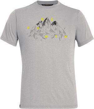 Salewa Illustration Dri-Rel T-Shirt Herren grau