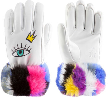 ZANIER Fashion Da. Handschuhe Damen weiß