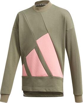 ADIDAS The Pack Sweatshirt Mädchen grün