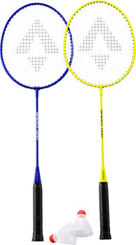 TECNOPRO Speed 200 2 Player Badmintonschlägerset gelb