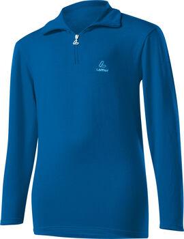 LÖFFLER Basic Transtex® Langarmshirt blau