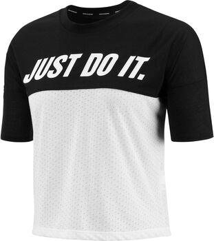 Nike Tailwind T-Shirt Damen schwarz