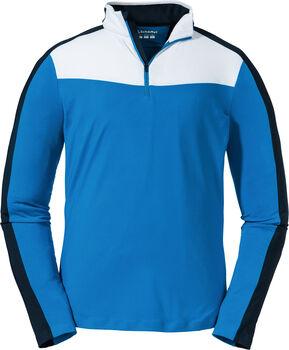SCHÖFFEL Stuben Langarmshirt mit Halfzip Herren blau