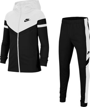 Nike  U NSW Poly Wvn OVRLYKinder Trainingsanzug schwarz