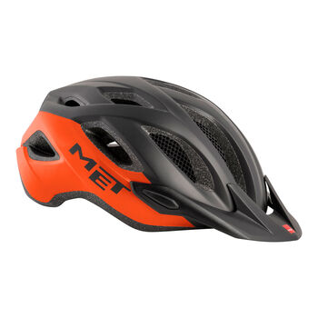 MET Crossover Radhelm orange
