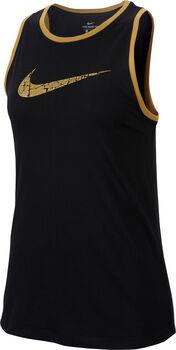 Nike Dri-FIT Tanktop Damen schwarz