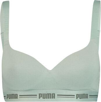Puma Padded Top BH Damen grün
