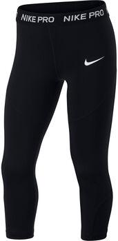 Nike Pro 3/4 Tights Mädchen schwarz