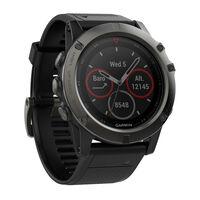Fenix 5X GPS-Multisport Uhr
