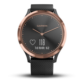 Garmin vivomove HR Sport Fitnesstracker schwarz