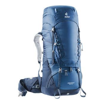 Deuter Aircontact 55 + 10 Trekkingrucksack blau