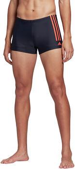 adidas Semi 3-Streifen Boxer Badehose Herren blau