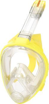 TECNOPRO FullFace Mask M9 C Maske & Schnorchel grau