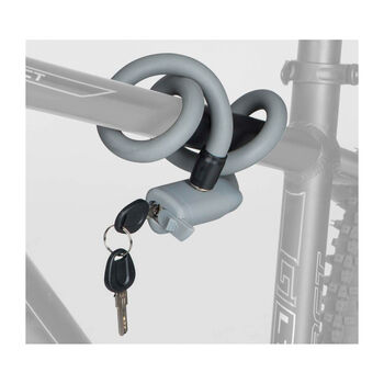 Cytec Soft Flex Kabelschloss mit Schlüssel grau