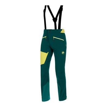 MAMMUT Base Jump Softshell Pants langgestellt Herren grün