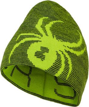 Spyder Reversible Mütze grün
