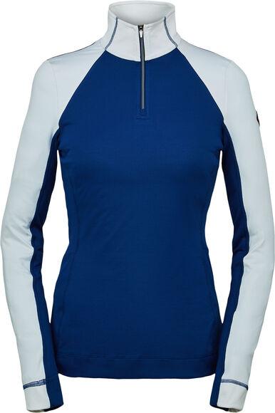 Savona Zip T-NeckDa. T-Shirt L/S m.1/2 Zip
