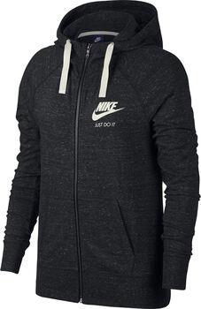 Nike Sportswear Gym Vintage Sweatjacke mit Kapuze Damen schwarz