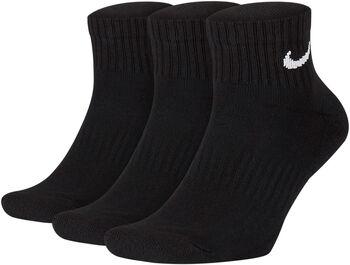 Nike U Nk Everyday Cushion Ankle Socke - 3er-Pack schwarz