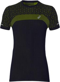 ASICS Seamless SS Texture T-Shirt Herren schwarz