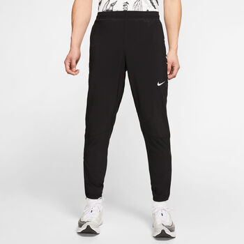 Nike Essntl Woven Trainingshose Herren schwarz