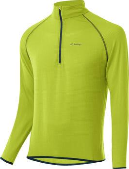 LÖFFLER Aero Sweater mit Halfzip Herren grün