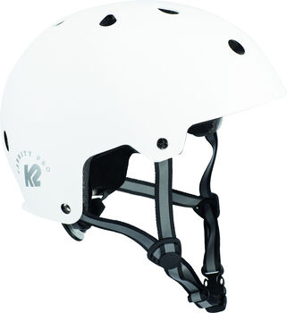 K2 Varsity Pro Skatehelm weiß