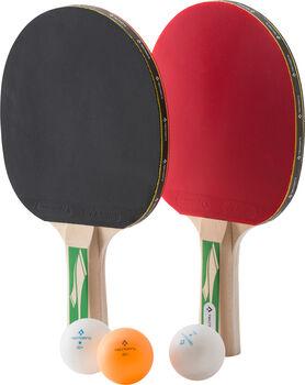 TECNOPRO Pro 3000 Tischtennisset & 3 Bälle schwarz
