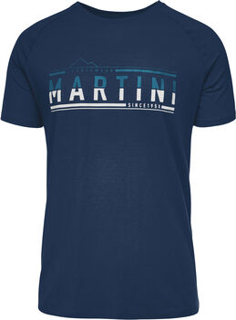 MARTINI Motivation T-Shirt Herren blau