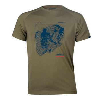 MAMMUT Mountain T-Shirt Herren grün