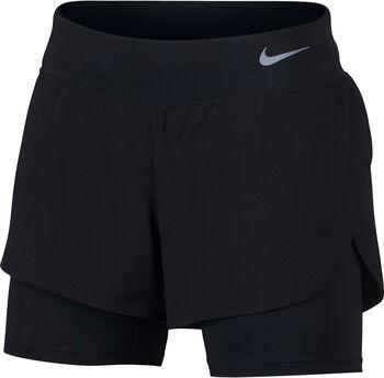 Nike Ecplise 2in1 Shorts Damen schwarz