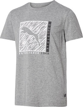Puma T-Shirt grau