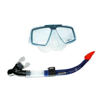 Aqua Lung Cozumel Pro + Schnorchelset Herren blau