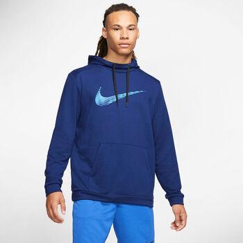 Nike Dri-FIT Hoodie Herren blau